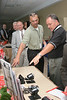 <b>IMG_68177</b><br>The representative from Decatur Electronics (left) talks about his products with conference attendees
