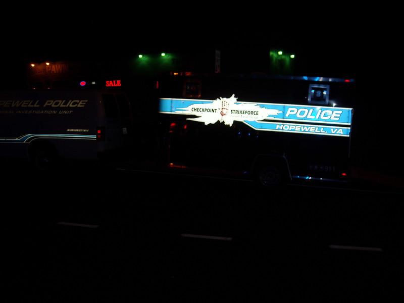 Hopewell Police DUI Trailer
