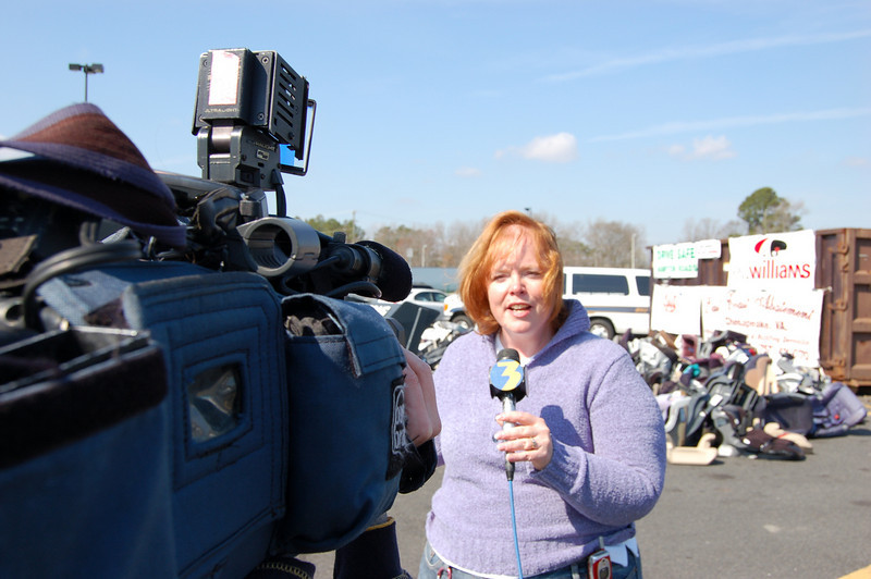 Mary Ann Rayment, Virginia Highway Safety Office, live on Channel 3