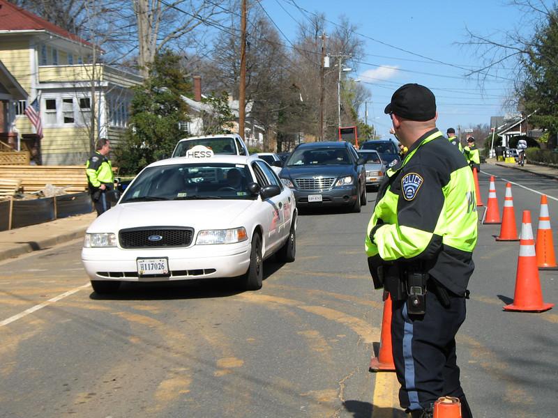 Arlington Co. PD – March CIOT Enforcement Checkpoint