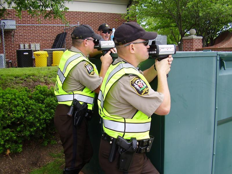 Loudoun County Sheriff's Office CIOT checkpoint
