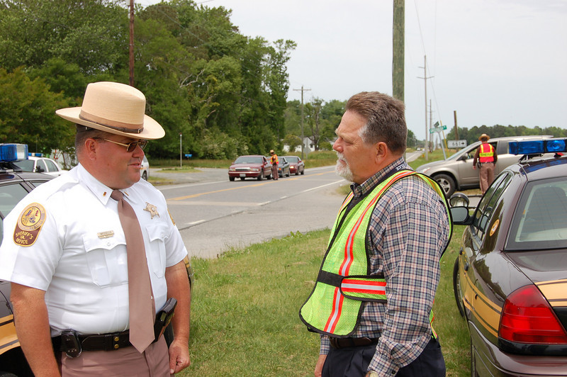 Click It or Ticket Checkpoint -- Accomack Co (Eastern Shore)