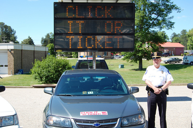 Click It or Ticket Route 460 & 60 Blitzes