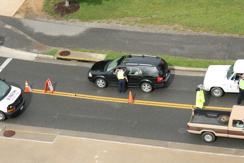 Virginia Tech Police Department Campus Checkpoint (05-28-2009)