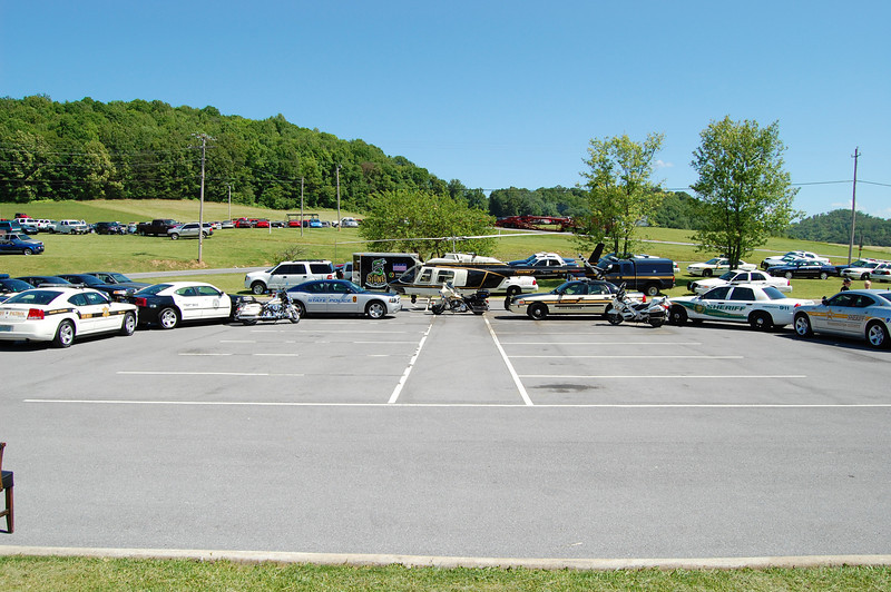 2009-05-25: Click It or Ticket It Kickoff with TN, VA, and NC at the  <br /> Tennessee Highway Patrol HQ in Falls Branch, TN.
