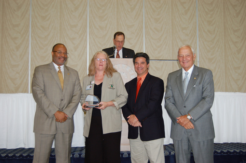 2009 Governor's Transportation Safety Award for Pedestrian/Bicycle Safety:<br /> Kim Kirk, Town of Blacksburg/Blacksburg Transit