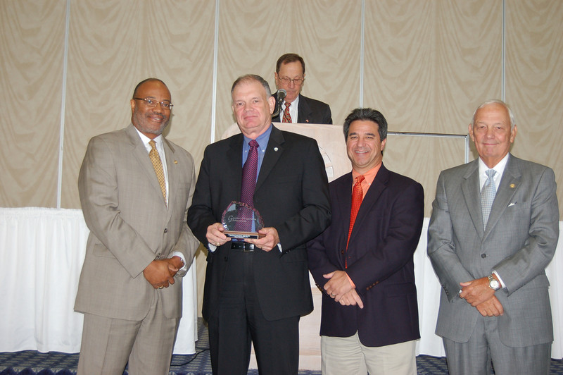 2009 Governor's Transportation Safety Award for Lifetime Achievement:<br /> Retired Virginia State Police Captain Howard Gregory