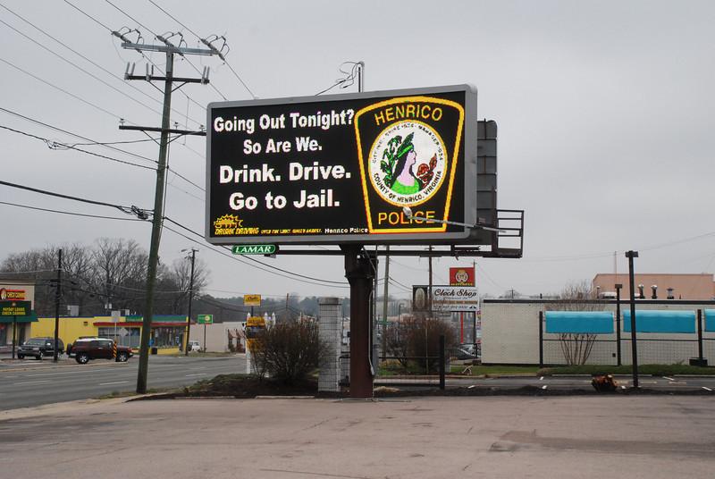 Henrico County St. Patrick's Day Billboards