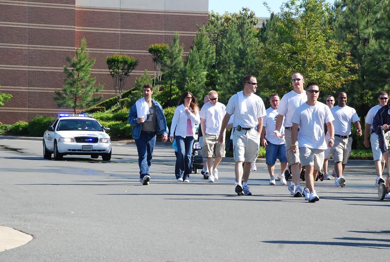 HPD recruits walk at MADD Walkathon