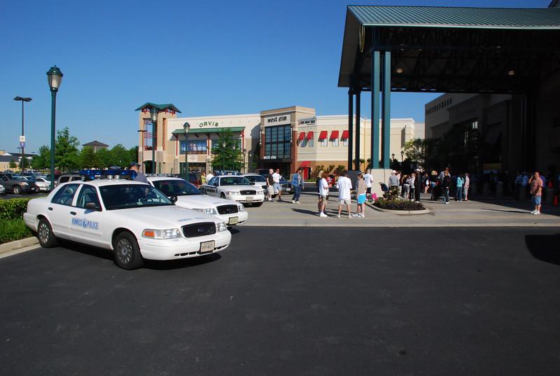 HPD at MADD Walkathon Short Pump Town Center 5-17-08