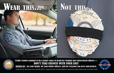VACP Officer Belt Use Poster