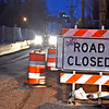 Bridge on Pawtucket Street that is closed to one way traffic. SUN/ David H. Brow