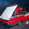 Ford crestline skyliner 500 retractabme,American dreamcars and bikes,exposition,tentoonstelling