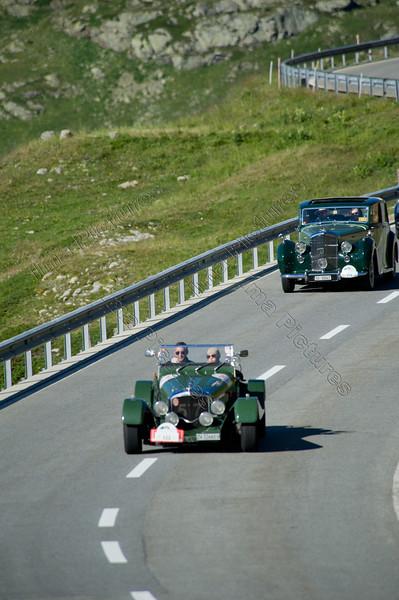 Bentley Mark VI Special Donnington,1951,22st British Classic Car Meeting,rally,Sankt Moritz,Switserland,Zwitserland,Suisse