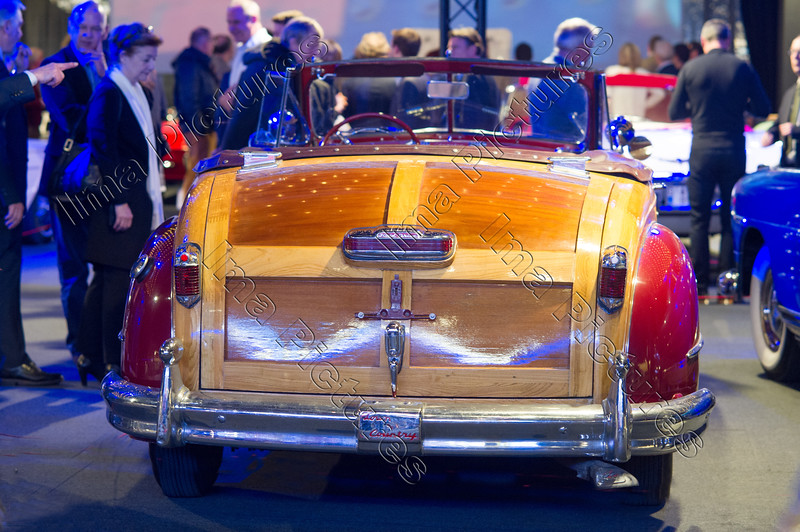 Chrysler Town & Country convertible,1946,American dreamcars and bikes,exposition,tentoonstelling