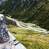 Tremola road, Gotthard pass, Switzerland