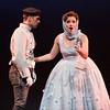 Tenor Adrian Karmer (Don Jose) and soprano Andriana Chuchman (Micaela) in San Diego Opera's The Tragedy of Carmen. March, 2017. Photo by Karli Cadel.
