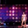 Mezzo-soprano Peabody Southwell (Carmen), bass-baritone Ryan Kuster (Escamillo) and actor Max Cadillac (Lillas Pastia, reclining) in San Diego Opera's The Tragedy of Carmen. March, 2017. Photo by Karli Cadel.
