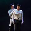 (L-R) Actor Anthony Nikolchev (Zuniga) and tenor Adrian Kramer (Don Jose) in San Diego Opera's The Tragedy of Carmen. March, 2017. Photo by Karli Cadel.