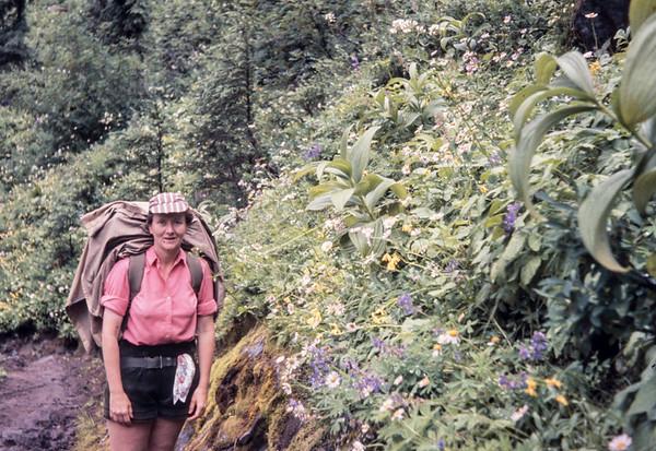 N17 ML & flowers 1963