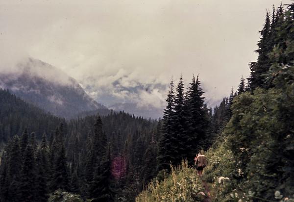 N18 Near Glacier Creek camp1963