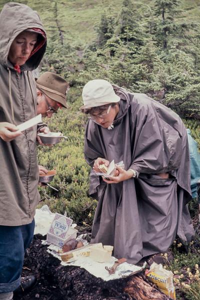 N19 Glacier camp penny & Betty Tully 1963