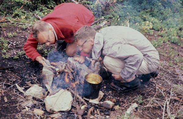 N20 Fire starting camp1963