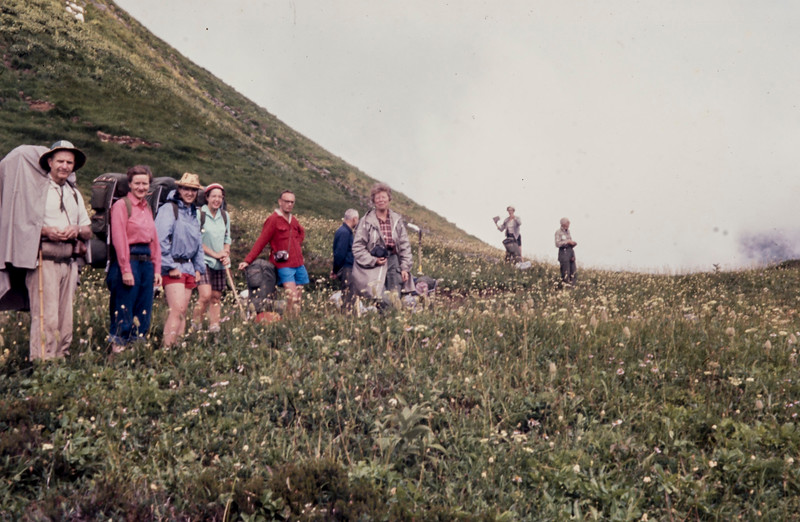 N26 crowd leaves White Pass 1963