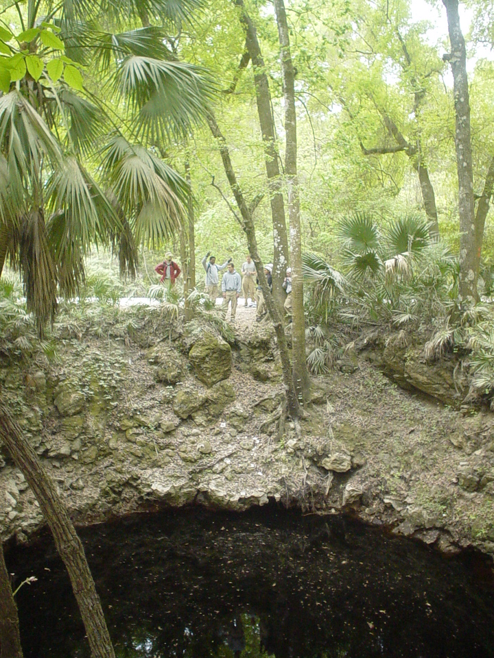 The amazing Aucilla Sinks along the Florida Trail