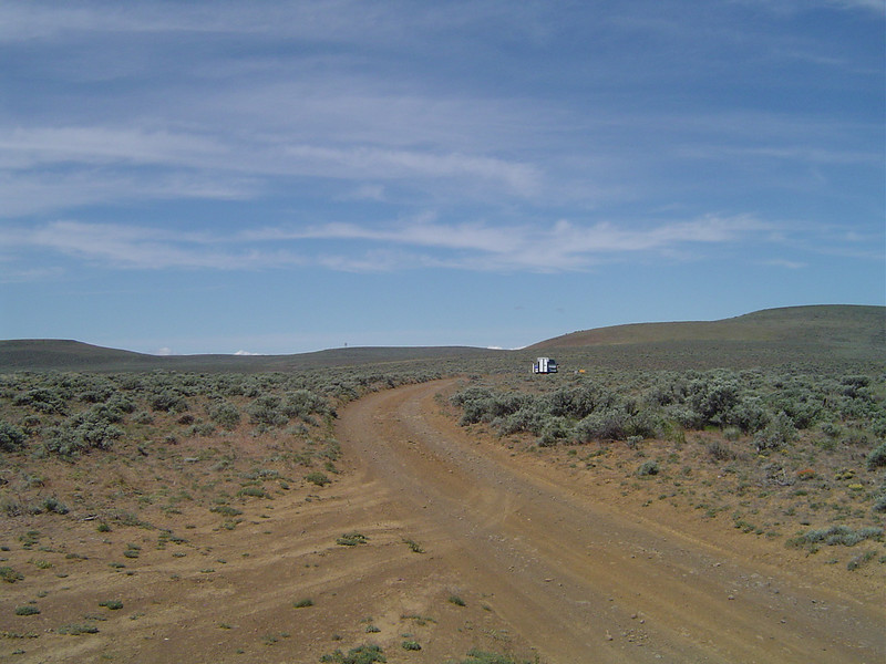 This may look like we are in the middle of nowhere, but we are actually just 1/4 mile off of Vantage Hwy east of Ellensburg, WA.