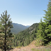 Looking further up Crow Creek Loop towards Rainier.