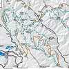 Here is a map to make it easier to follow along with the story. From Lake Creek camp ground we took Lake Creek (1443) to Angle Peak (1444) to Devils Backbone (1448). Pot Peak (1266) and a failed attempt of 25 Mile Creek (1265) to Shady Pass Rd (5900).