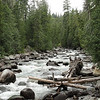 The sound of a flowing river. Nice way to fall asleep at night.