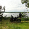Such as this one! Minnesota really is the land of 10,000 lakes. You will quickly lose count of how many lakes you pass by in a typical day of riding. Here is a quick stop at Comstock Lake.