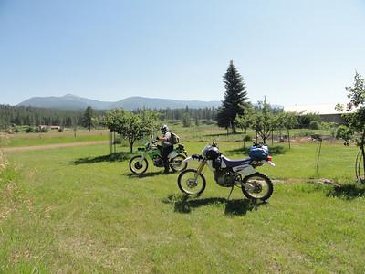 July 7 & 8, 2011 - Lolo / St Joe NF Camp & Ride