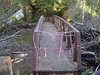 The river can be crossed via the cement bridge at the start of Twin Lakes Rd about a mile east of the camp.