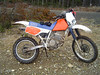 """My """"still running great"""" 87 XR 250. This was my 26th ride since I bought it in Aug. 06."""