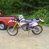 I'm not the only one with a 96 DR 350. Paul from Tacoma rides this one shown here.