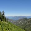 Looking toward Alpine Lakes Wilderness.