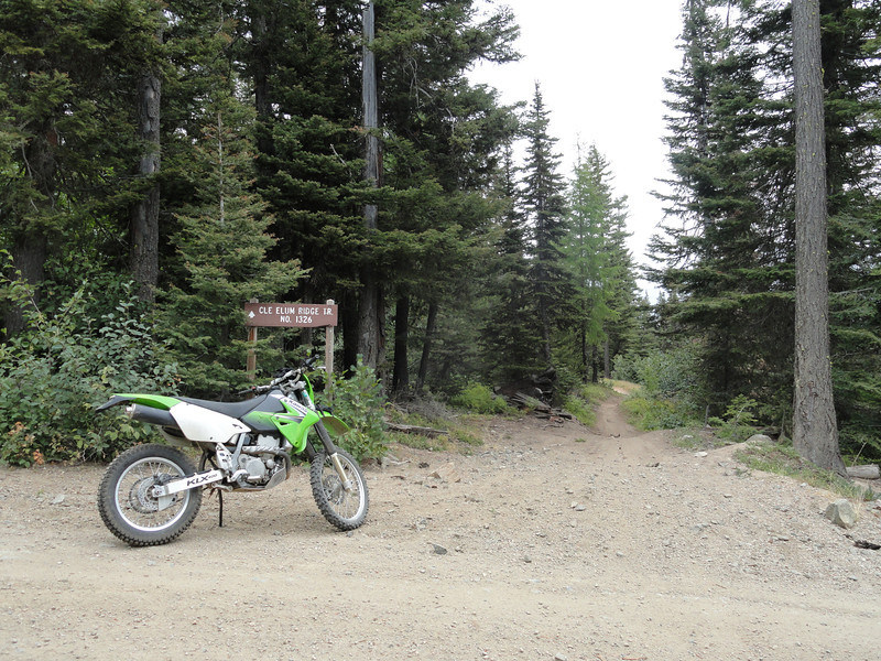 Staging at Woods Steele Road puts you 100 ft from hopping on the Cle Elum Ridge trail.