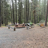 Stopped at Taneum Junction campground for Lunch.