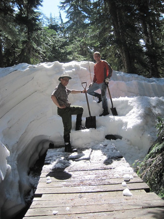 July 2, 2011 - Hollyburn Snow Trail Maintenance