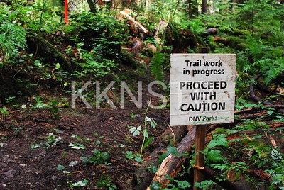 Trail Maintenance east of Hyannis Road