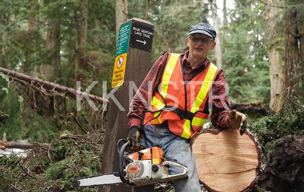 May 25, 2013 - Hollyburn Chute Trail Maintenance