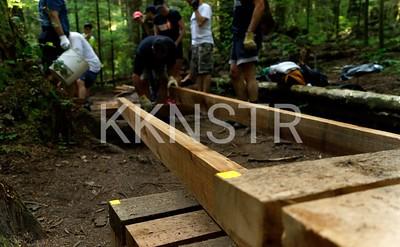 Building a boardwalk, Part 1