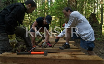 Building a boardwalk, Part 4