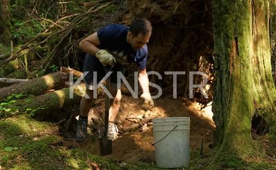 Mining for dirt