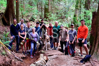 2018 Trail Maintenance Crew
