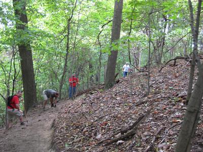 PTAG BABE Brady's Run Trail Maintenance - 20080907