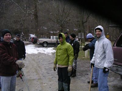 PTAG Trail Maintenance - Brady's Run - 20070304